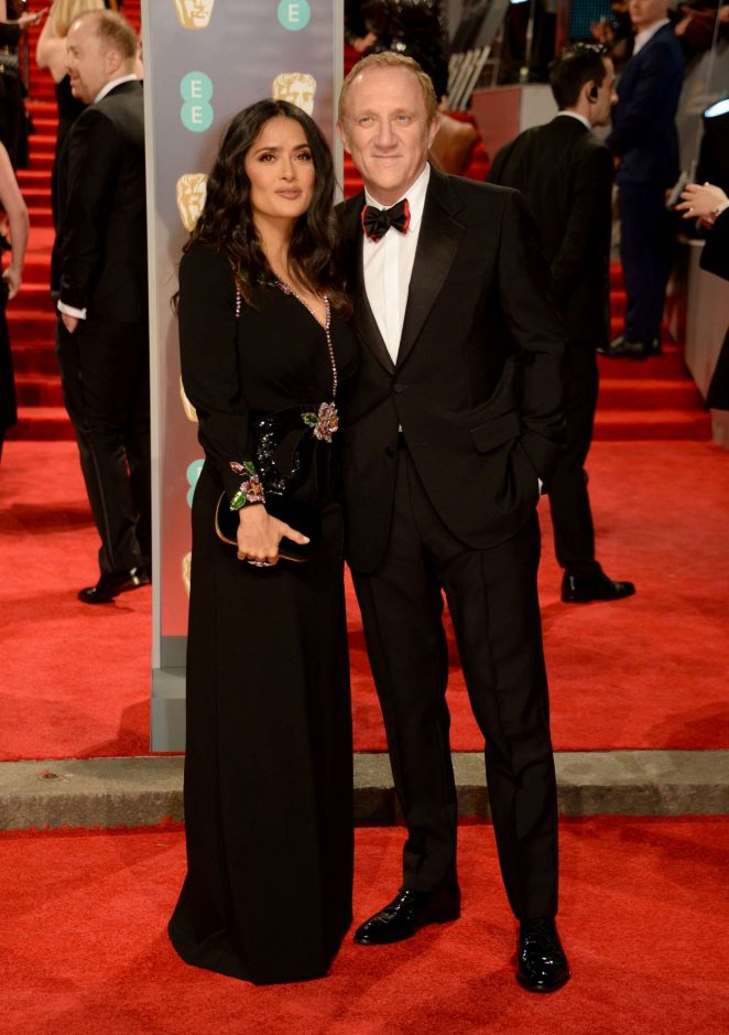 Salma Hayek: 2018 BAFTA Awards -06