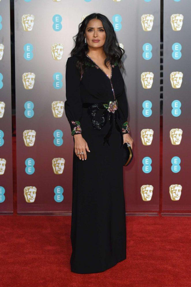 Salma Hayek: 2018 BAFTA Awards -09