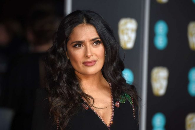 Salma Hayek: 2018 BAFTA Awards -10
