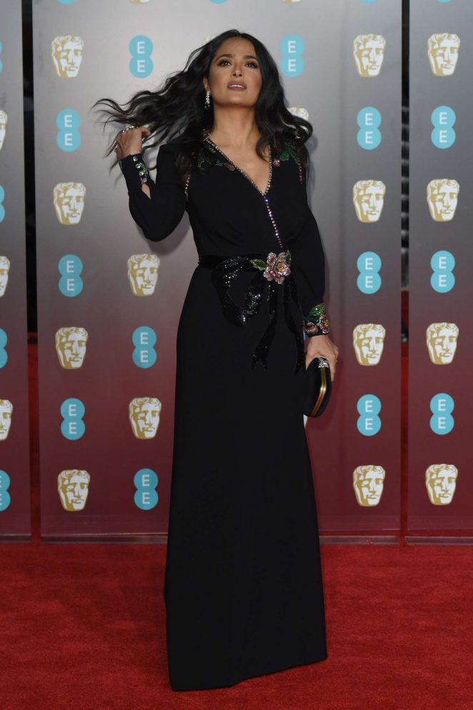 Salma Hayek: 2018 BAFTA Awards -14