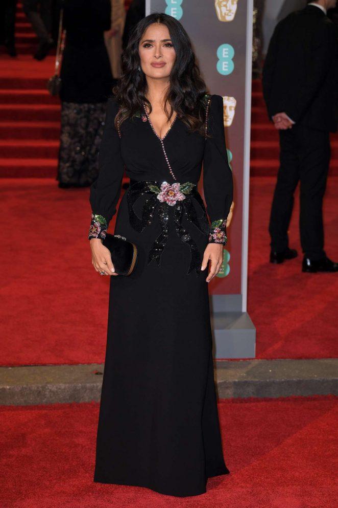 Salma Hayek: 2018 BAFTA Awards -23