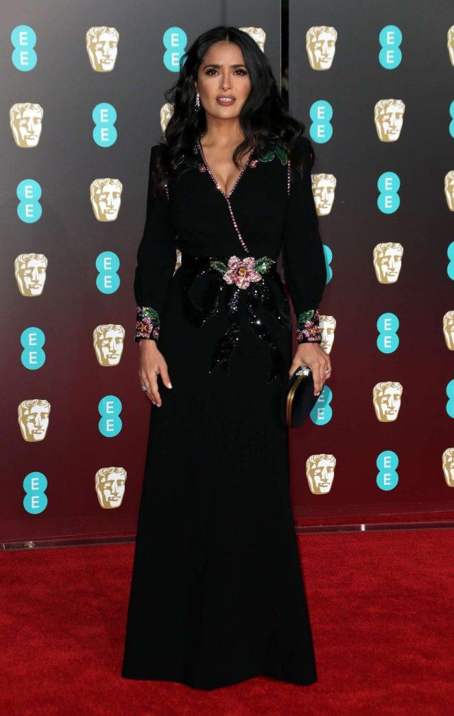 Salma Hayek: 2018 BAFTA Awards -24