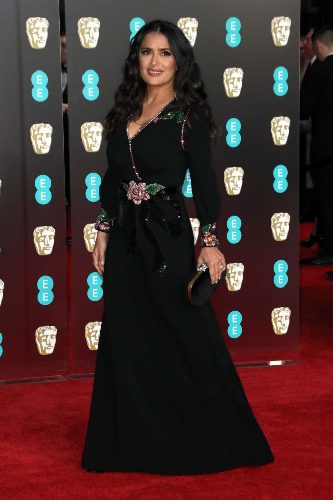 Salma Hayek: 2018 BAFTA Awards -25