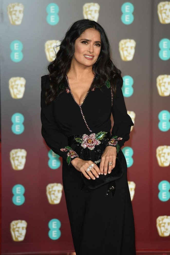 Salma Hayek: 2018 BAFTA Awards -26