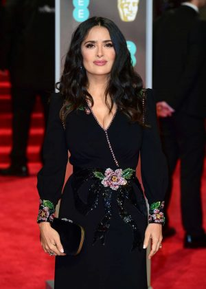 Salma Hayek - 2018 BAFTA Awards in London