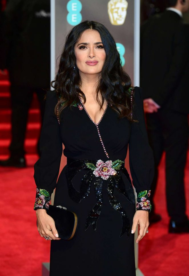 Salma Hayek - 2018 BAFTA Awards in London