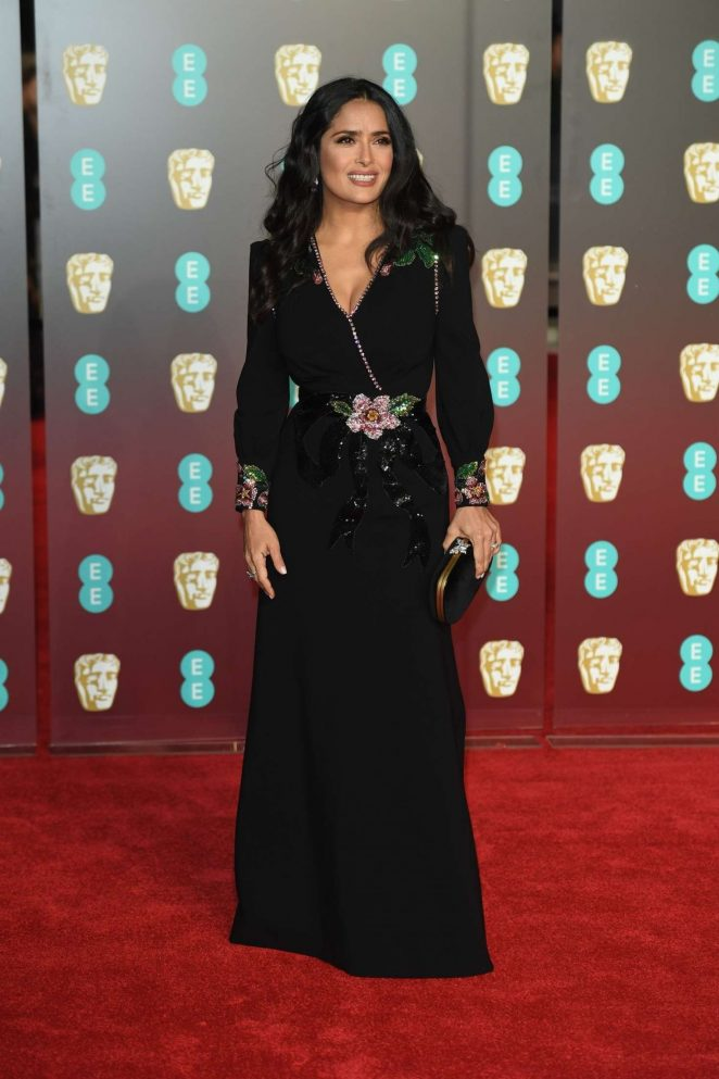 Salma Hayek: 2018 BAFTA Awards -30