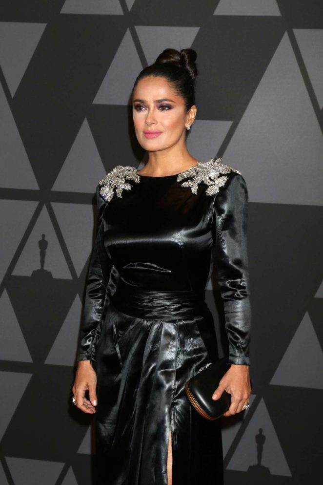 Salma Hayek - 9th Annual Governors Awards in Hollywood