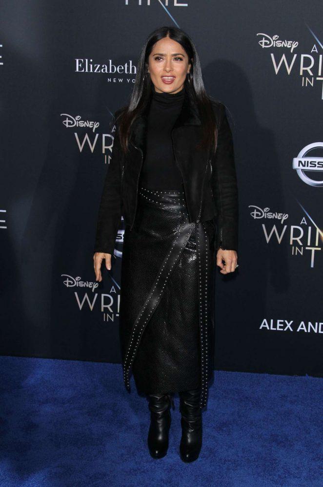 Salma Hayek - 'A Wrinkle in Time' Premiere in Los Angeles