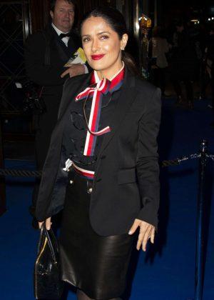 Salma Hayek - An American in Paris Press Night in London