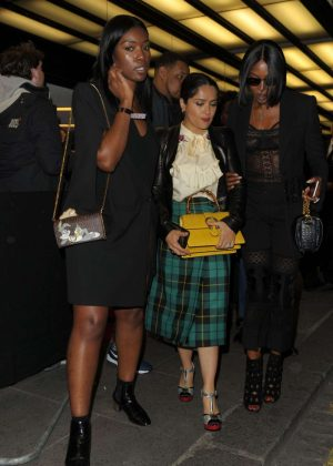 Salma Hayek and Naomi Campbell - Leaving Can't Stop, Won't Stop A Bad Boy Story After Party in London