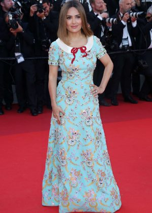 Salma Hayek - Anniversary Soiree at 70th Cannes Film Festival