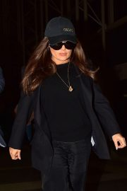 Salma Hayek - Arrives at LAX Airport in Los Angeles
