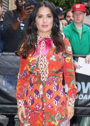 Salma Hayek at 'The Daily Show with Trevor Noah' in NY