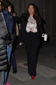 Salma Hayek - Attends British Vogue's Forces For Change in London