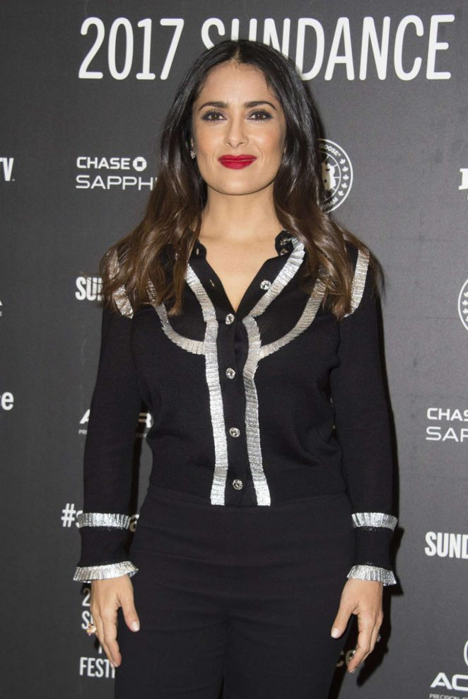 Salma Hayek - 'Beatriz At Dinner' Premiere at 2017 Sundance Film Festival in Utah