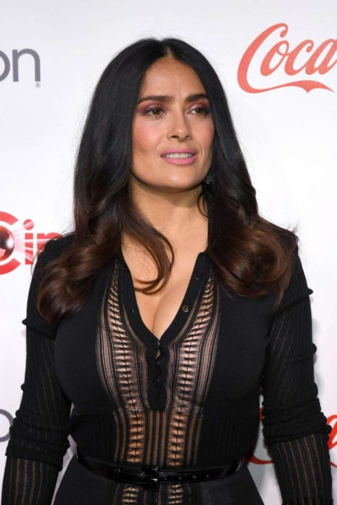 Salma Hayek - Big Screen Achievement Awards at 2016 CinemaCon in Las Vegas