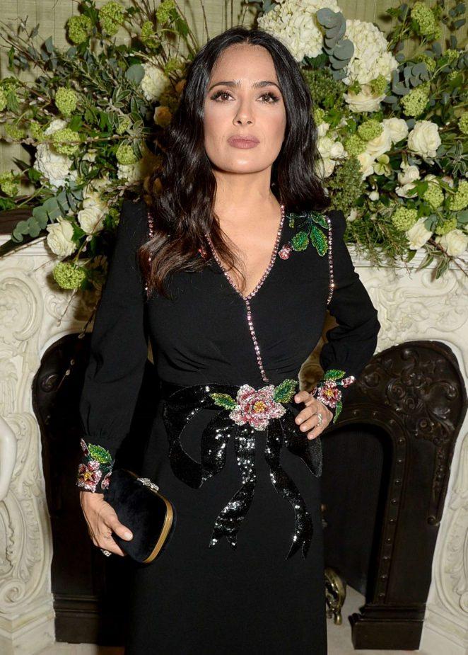 Salma Hayek - British Vogue Fashion and Film Party 2018 in London
