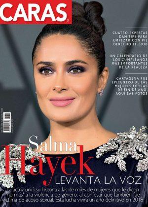 Salma Hayek - Caras Magazine (Colombia - January 2018)