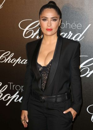 Salma Hayek - Chopard Trophee Event at 70th Cannes Film Festival