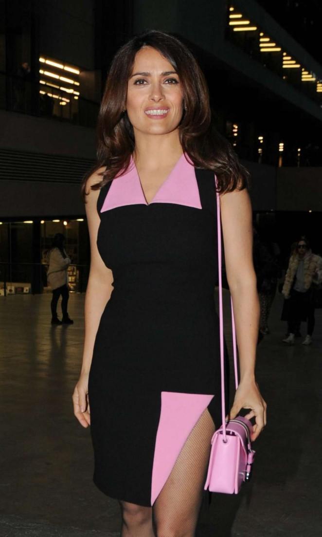 Salma Hayek - Christian Kane Fashion Show 2015 in London