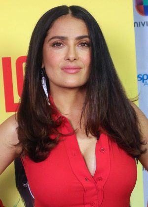Salma Hayek - Despierta America TV show in Miami