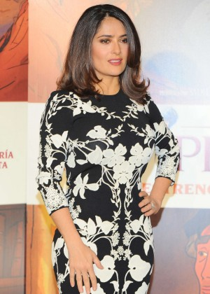 Salma Hayek - 'El Profeta' Film Photocall in Mexico City