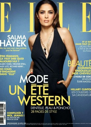 Salma Hayek - Elle France Magazine (April 2015)