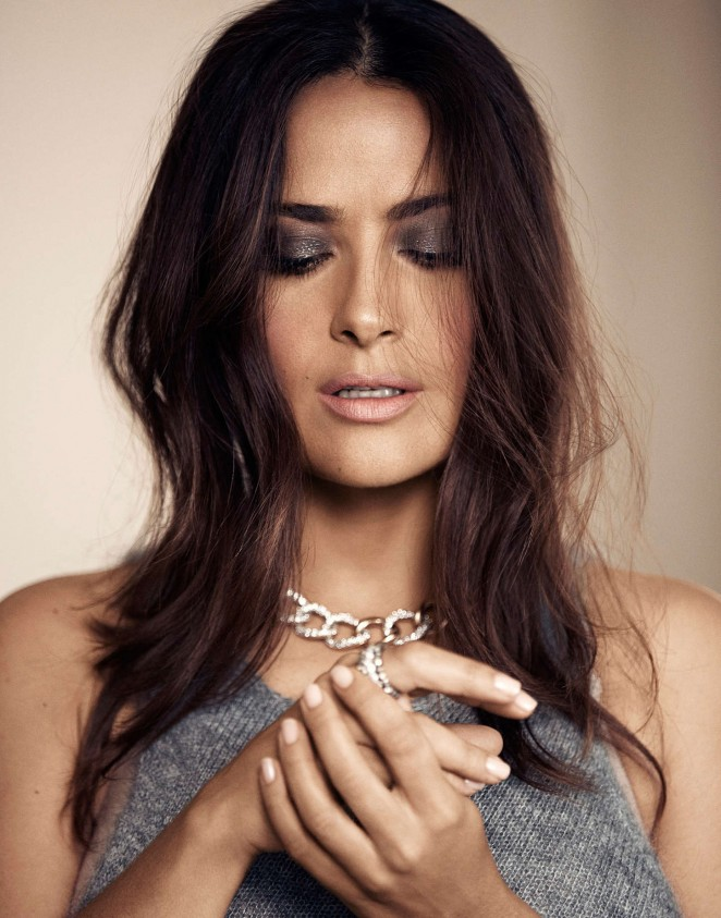 Salma Hayek: Evening Standard Photoshoot 2015 -01