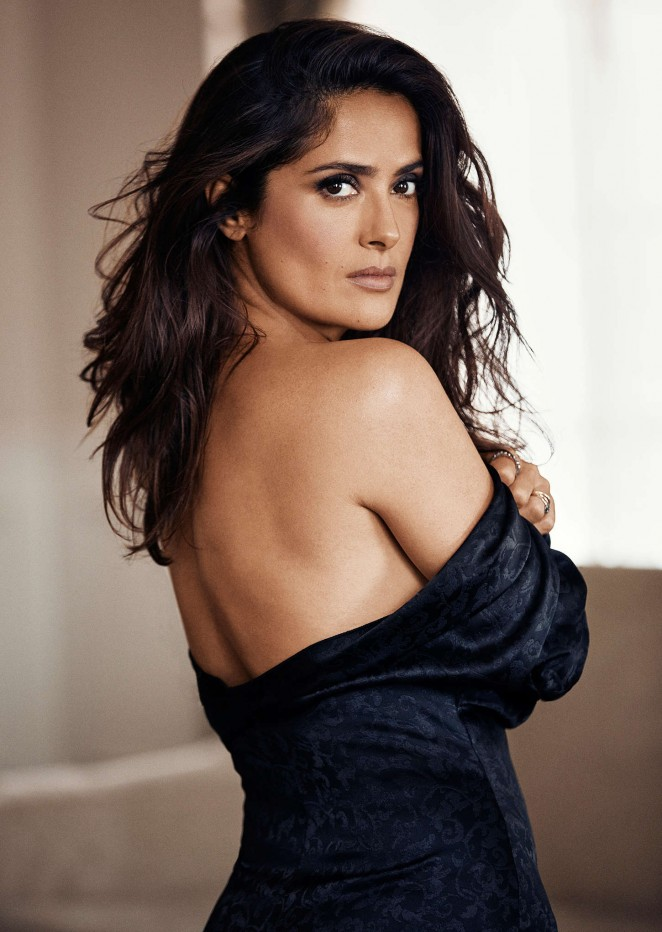 Salma Hayek: Evening Standard Photoshoot 2015 -03