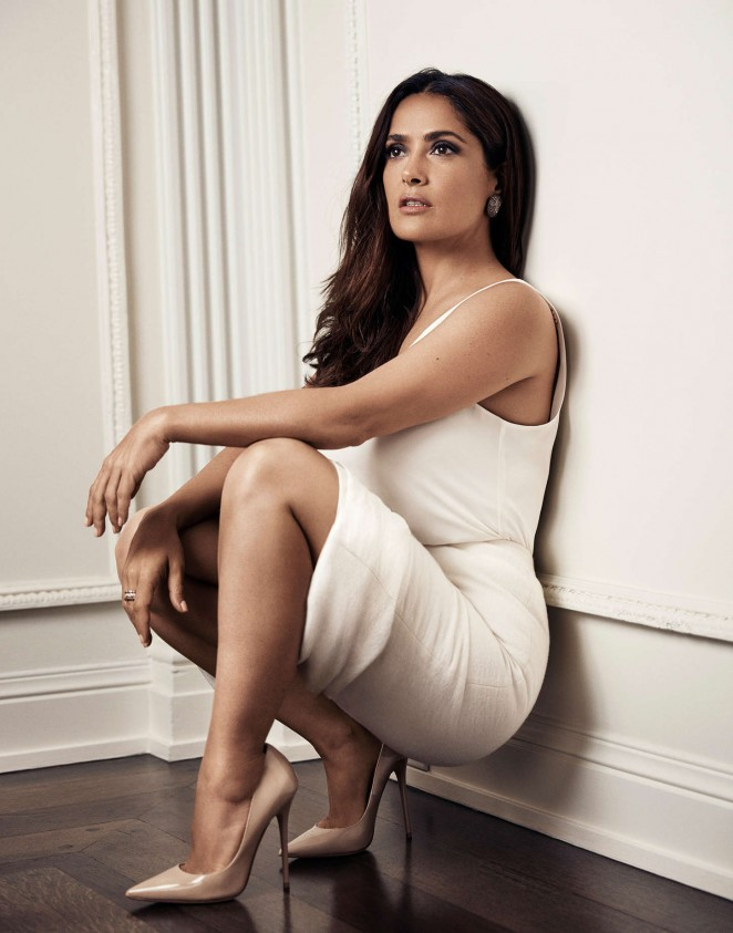 Salma Hayek: Evening Standard Photoshoot 2015 -06