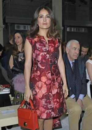 Salma Hayek - Giamba Parterre Fashion Show 2015 in Milan