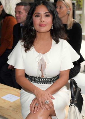 Salma Hayek - Giambattista Valli Show in Paris