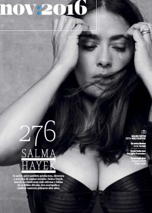 Salma Hayek - GQ Mexico Magazine (November 2016)