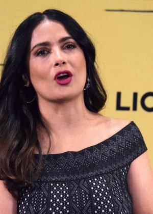 Salma Hayek – How To Be a Latin Lover' Press Conference in Mexico ...  Salma Hayek