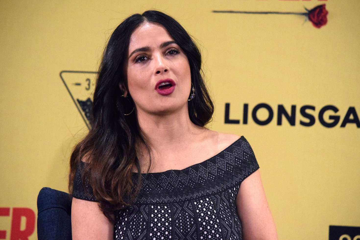 Salma Hayek: How To Be A Latin Lover Press Conference 05 Full Size