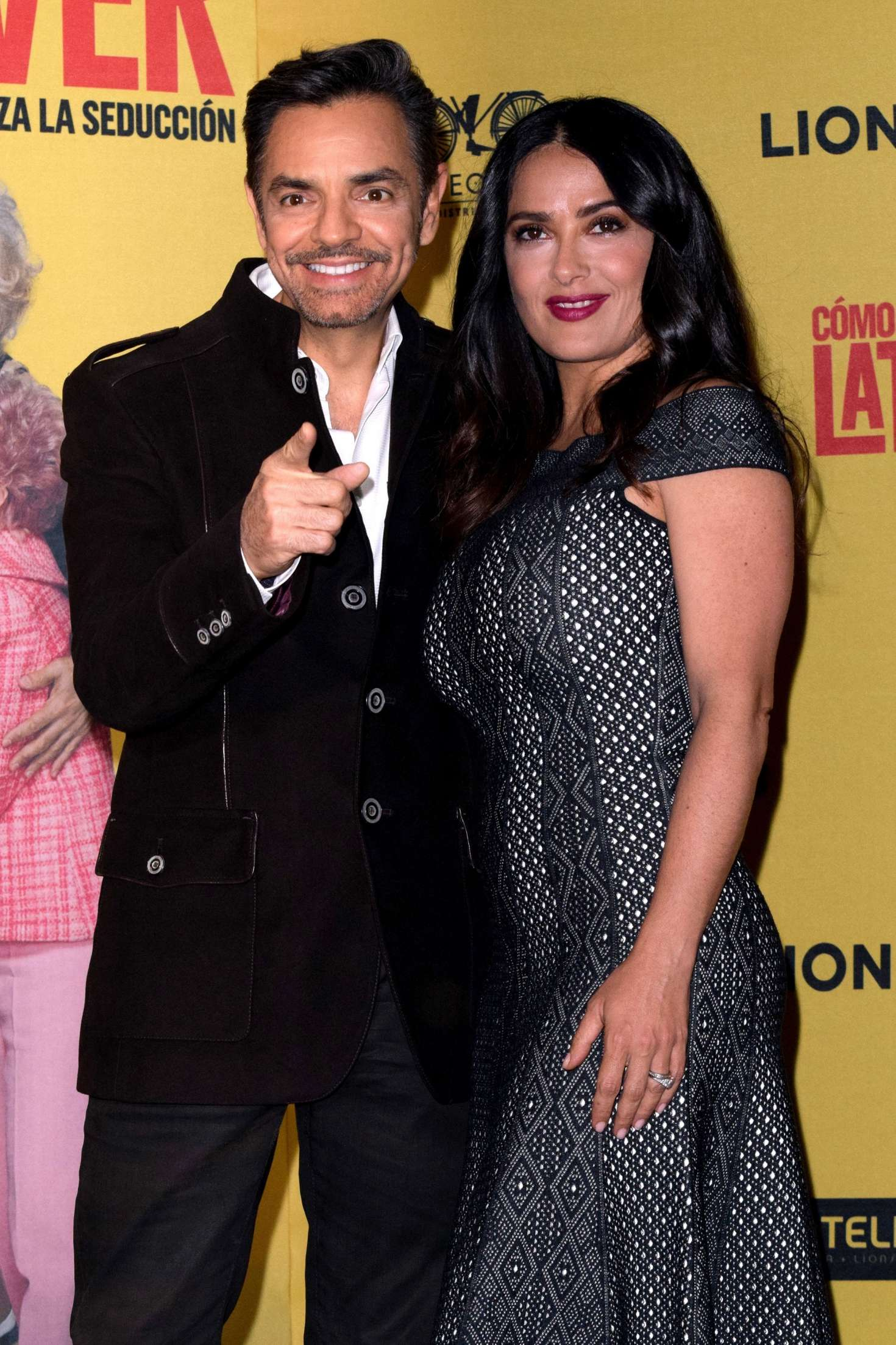 Salma Hayek: How To Be A Latin Lover Press Conference 12