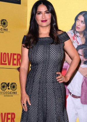 Salma Hayek - How To Be a Latin Lover' Press Conference in Mexico City