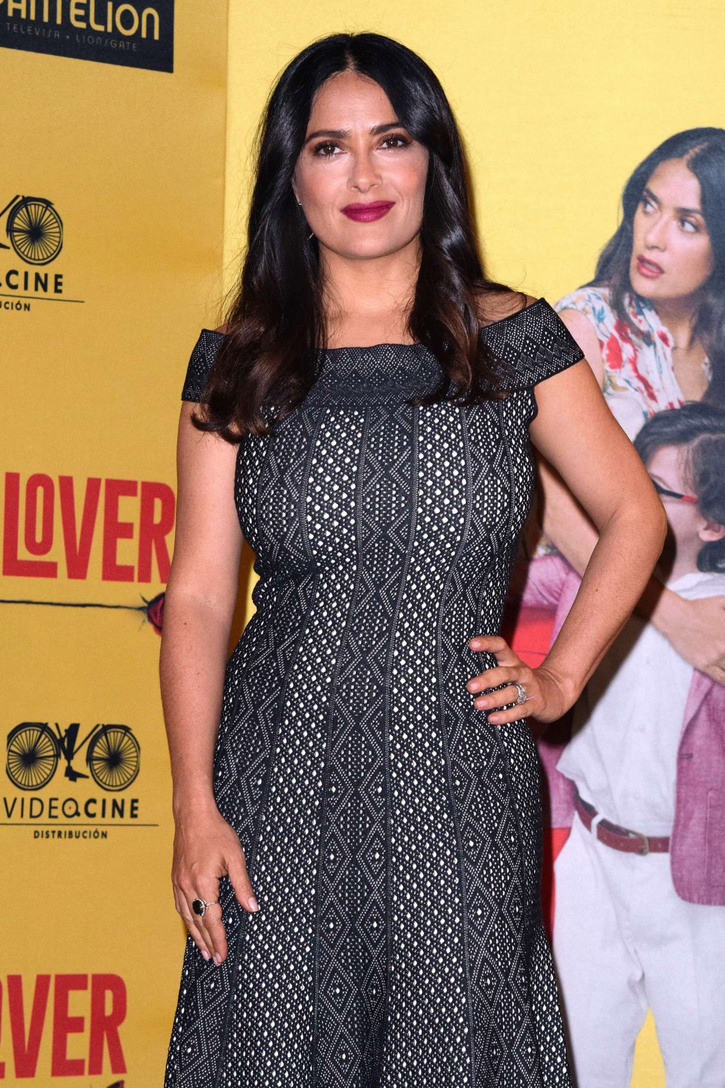 Salma Hayek: How To Be A Latin Lover Press Conference 18 Full Size Salma  Hayek
