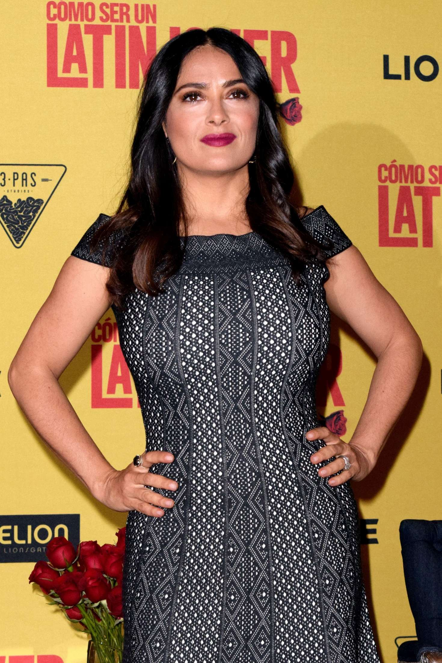 Salma Hayek: How To Be A Latin Lover Press Conference 18 Full Size