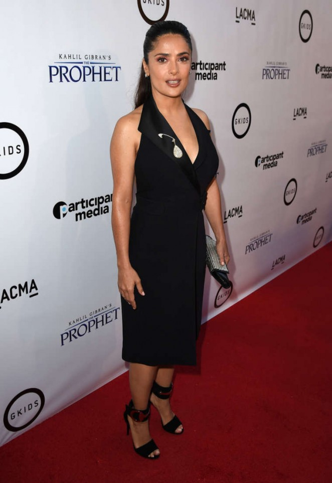 Salma Hayek - 'The Prophet' Premiere in Los Angeles