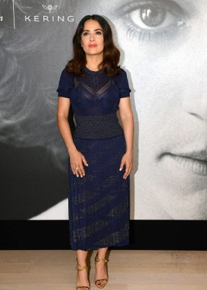 Salma Hayek - Kering Talks Women in Motion at 2016 Cannes Film Festival