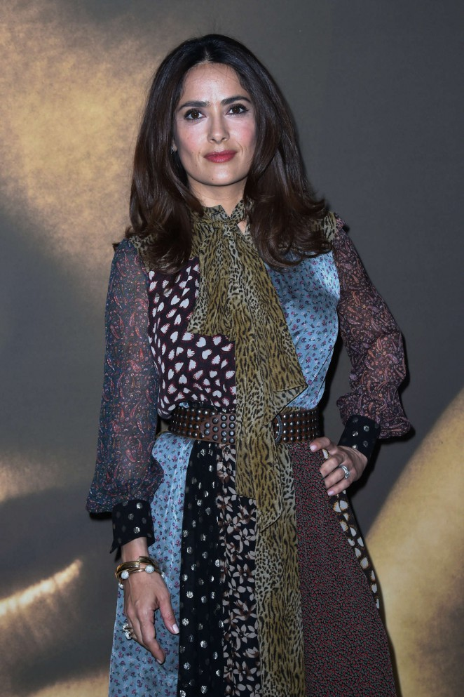 Salma Hayek - 'Kering Women in Motion Initiatives' talk at the Majestic Hotel in Cannes