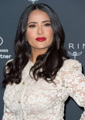 Salma Hayek - Kering Women in Motion Photocall at Cannes Film Festival