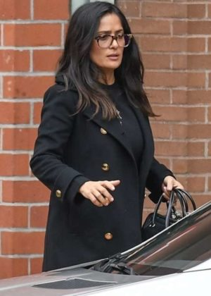 Salma Hayek - Leaves a medical building in Beverly Hills