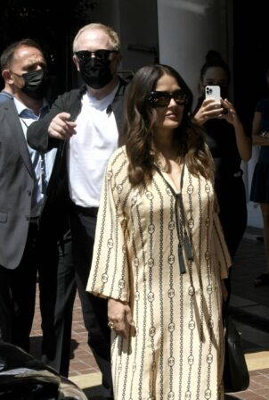 Salma Hayek - looks stylish in Cannes