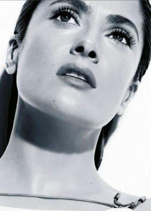 Salma Hayek: Madame Figaro Magazine 2015 -02