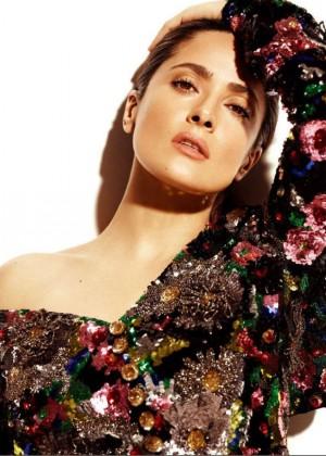 Salma Hayek: Madame Figaro Magazine 2015 -03