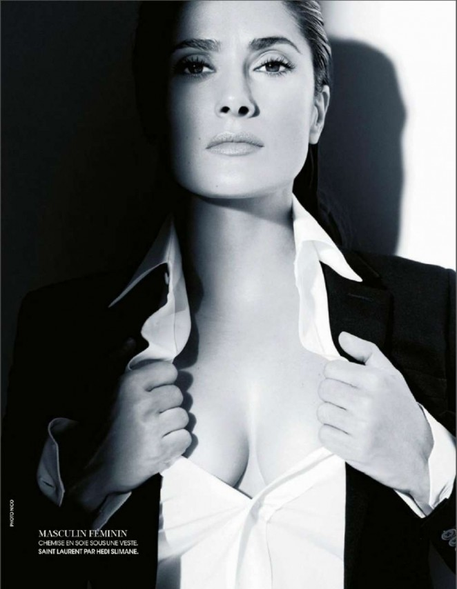 Salma Hayek - Madame Figaro Magazine (May 2015)