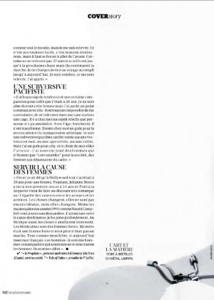 Salma Hayek: Madame Figaro Magazine 2015 -05